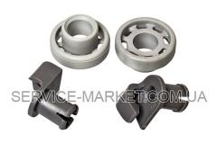 Колеса (2шт) с держателями для ящика посудомоечной машины Bosch 424717 , артикул 11478