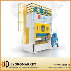 Hydraulic press of a deep extract of ELMALI
