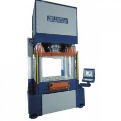 Hydraulic press of 300 tons with the ChPU system