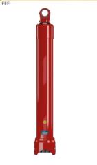 Гидроцилиндр телескопический одностороннего