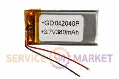 Литий-полимерный аккумулятор GD 042040P 3,7V 380 mAh 20x40mm , артикул 14781