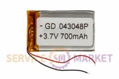 Литий-полимерный аккумулятор GD 043048P 3,7V 700 mAh 28x47mm , артикул 14769