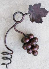 Декоративный кованый элемент Композиция виноградная малая