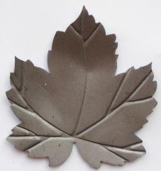 Декоративный элемент лист виноградный кованый М50