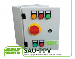 Case of control of the fan subtime of SAU-PPV-0,16-0,26 air