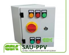 Ovládací skříňka ventilátor vzduchu tlakování SAU-PPV-2, 40-4, 0000