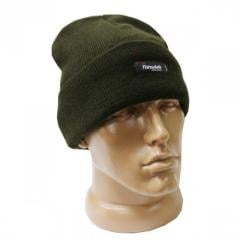 Cap knitted KombatUK an olive with Thinsulate