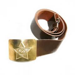 El cinturón de soldado (kozh.zam.) 10000116