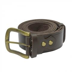 Belt trouser leather brown 40 mm 10002382