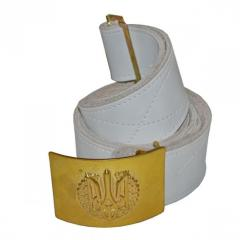 Belt ceremonial with a line (genuine leather)