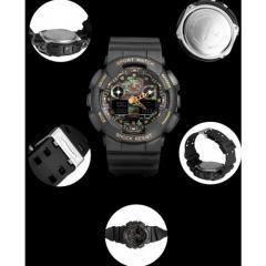 Часы армейские Sanda Water Resistant 50 m Camo