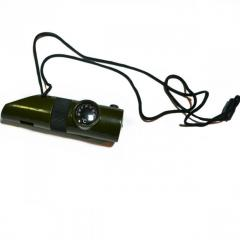 Saving whistle compass thermometer small lamp of