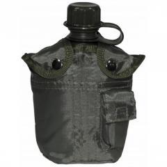 Фляга в чехле MFH 1 литр олива