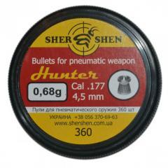 "Пули для пневматического оружия ""Shershen"" (360 шт; 0,68 g.)"