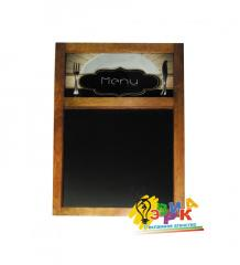 Menu board in a frame a creative 100Х60