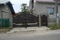 Ворота кованые под заказ Украина