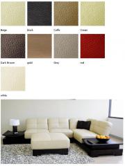 Upholstery artificial leather Michelle reminds the