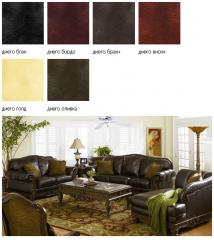 Diego collection faux leather, fabric type: