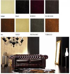 Imitation leather for furniture upholstery