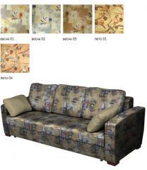 Флок с печатью для обивки мебели