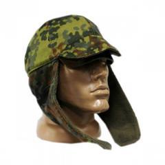 Cap with ear-flaps of NATO BUNDESWEHR flektarn