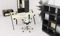 Серия мебели для персонала IQ, бенч-система