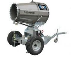 Установки для подавления пыли Dust-Fighte, Установки пылеподавления для карьеров, Системы подавления пыли