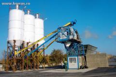 Мобильные и стационарные бетонные заводы