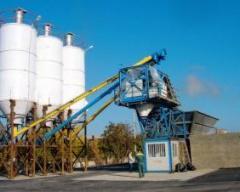 Транспортабельные бетоносмесительные заводы. Узлы бетоносмесительные стационарные. Заводы серии EXPORTMATIC
