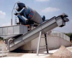 Оборудование для промывки автобетоносмесителей. Рециклинг остатков бетонной смеси Ecocal Venti