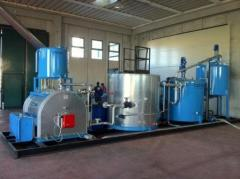 Installation for production of PBV (the modified