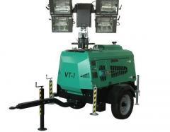 Осветительная мачта-генератор. Осветительная мачта Tower Light