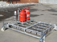 Machines for the closing of cracks and repair of