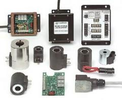 Control units for the hydraulic equipment (Coils