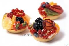 Tartlets gingerbread, in the form of baskets of