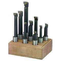 Набор расточных резцов 9 шт для расточной головки