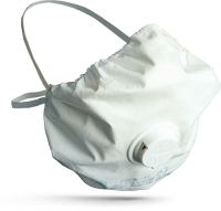 Antiaerosol respirator of