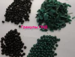 Гранулы (дробленка) ПНД оптом полиэтилена и