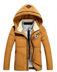 Мужская теплая зимняя куртка, модель 6126