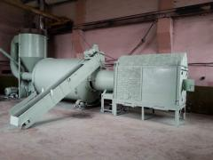 The dryer for ABM 0-65 sawdus