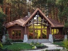 목재의 만든 집