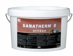 Краска фасадная силиконовая SANATHERM B silikon