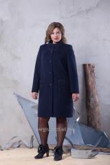 Пальто женское 2-517/9 Цвет: Дипломат