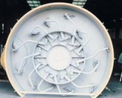 Тарельчатый бетоносмеситель