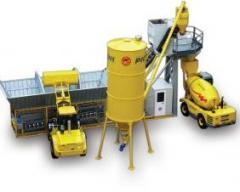 Бетоносмесительный завод Mobil 3