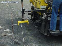 Система автоматической нивелировки для дорожно-строительной техники Sonic-Ski
