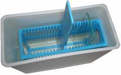 Пластмассовый  непрозрачный сосуд-контейнер  ОС