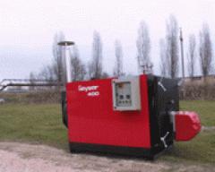 Boiler Geyser for heating water mixture