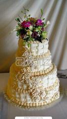 Торты свадебные Запорожье, свадебные торты на