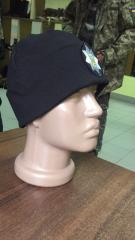 The cap is police patrol
